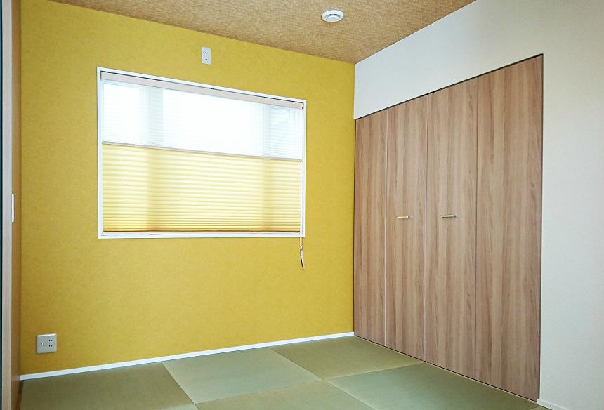 POPな和室。和室空間も明るく楽しい気分になりますね。