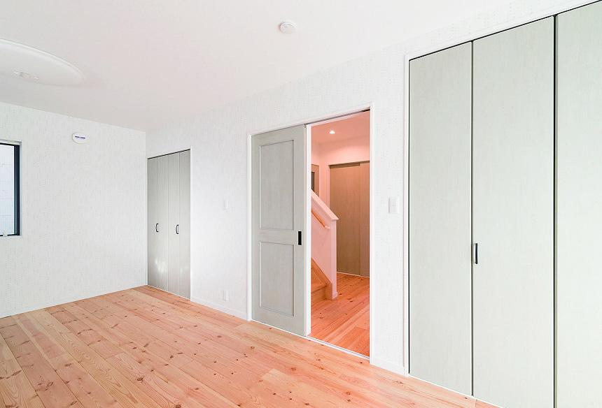 1階寝室スペース。